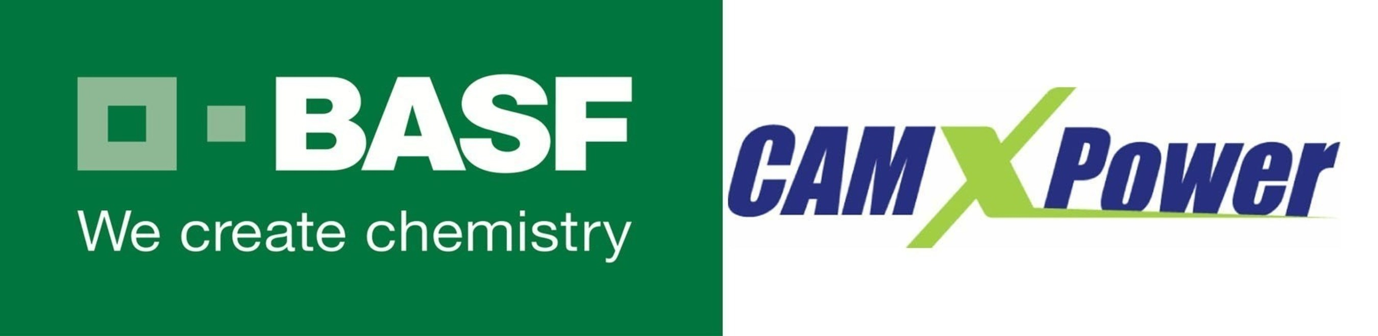 CAMX Power and BASF Logos
