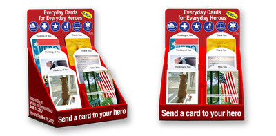 Send a Salute Through the Mail with 'Everyday Heroes' Greeting Cards Available at a Post Office Near You.  (PRNewsFoto/U.S. Postal Service)