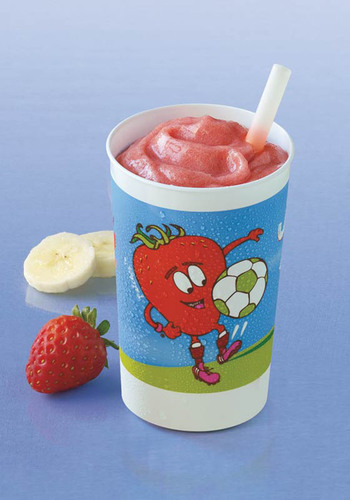 Jamba Juice hosts Free Kids Smoothie Day on Saturday, July 27 between 11 a.m. to 4 p.m. at select participating stores in support of children's nutrition.  (PRNewsFoto/Jamba Juice Company)