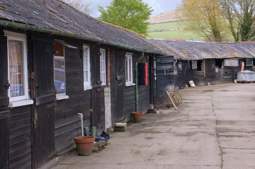 The Pilsdon Community, a working farm and refuge in Dorset, before major CRASH charity renovation project. ...