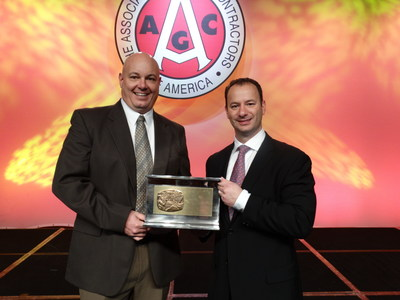LPCiminelli, Buffalo's largest contractor, received a national award last month from the Associated General Contractors of America for its construction of the Maid of the Mist Winter Storage and Maintenance Facility in Niagara Falls, NY.