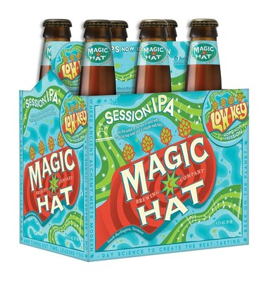 Magic Hat Brewing Company recently released Low Key - a new session IPA tuned to the key of ease with a tropical hop lead and a smooth malt bass.