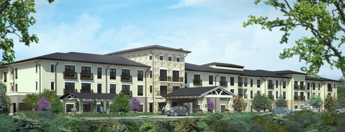 Architectural Rendering, Belmont Village Senior Living community in Austin, TX. Opens Spring 2014. Will provide  ...