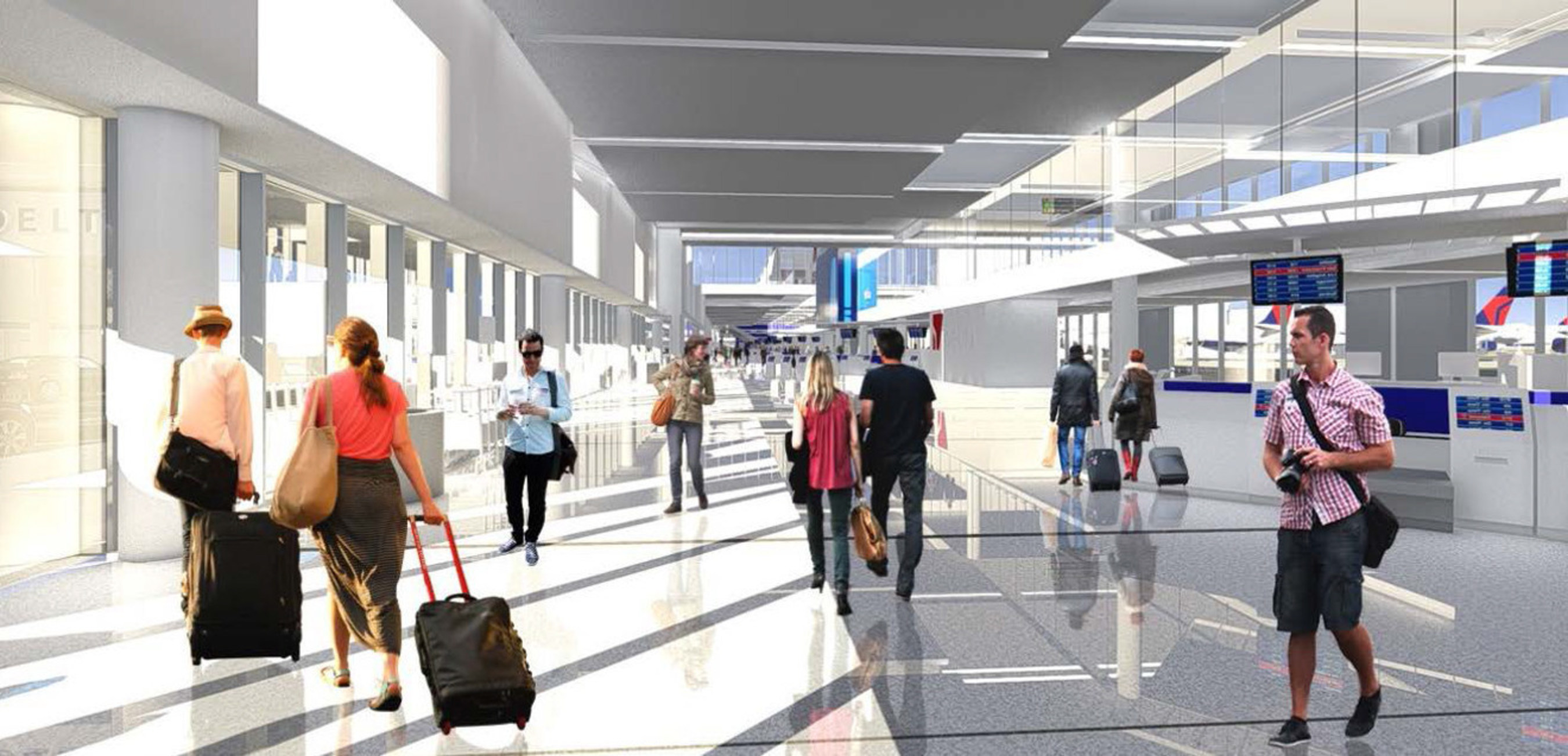 Delta to Relocate, Upgrade Operations at Los Angeles International Airport through $1.9B Plan