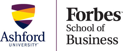 Ashford University Forbes School of Business logo.