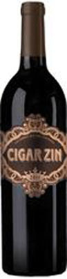 Cigar Zin wine bottle.  (PRNewsFoto/Deutsch Family Wine & Spirits)