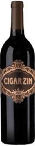 Cigar Zin wine bottle.  (PRNewsFoto/Deutsch Family Wine & Spirits)