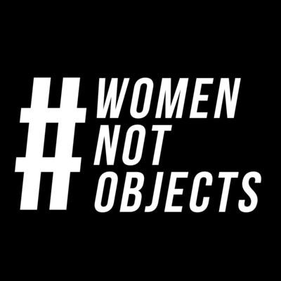 #WomenNotObjects logo