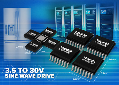 Toshiba TC78B006 motor control pre-driver IC series enable quiet, low-power operation of cooling fans in data servers  and home appliances.