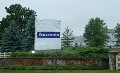 Faurecia, the world's sixth-largest automotive supplier, begins operations in Saline, Mich., after acquiring the interior trim components business from Automotive Components Holdings, LLC.  The plant supplies 12 vehicle programs assembled at eight Ford plants in North America.  (PRNewsFoto/Faurecia)