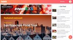 Host your own food show. Nom is a new, live interactive video platform from Steve Chen, the founder of YouTube.