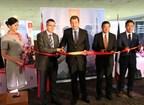 Hainan Airlines inaugurates Hangzhou-Xi'an-Paris route (By Li Xiaomin) (PRNewsFoto/Hainan Airlines Co LTD)