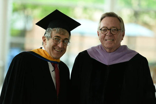 Stanley Bergman Delivers Commencement Address At Stony Brook School Of Dental Medicine