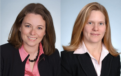 Kristina Rosette (left) and Hope Hamilton (right). (PRNewsFoto/Covington & Burling LLP)