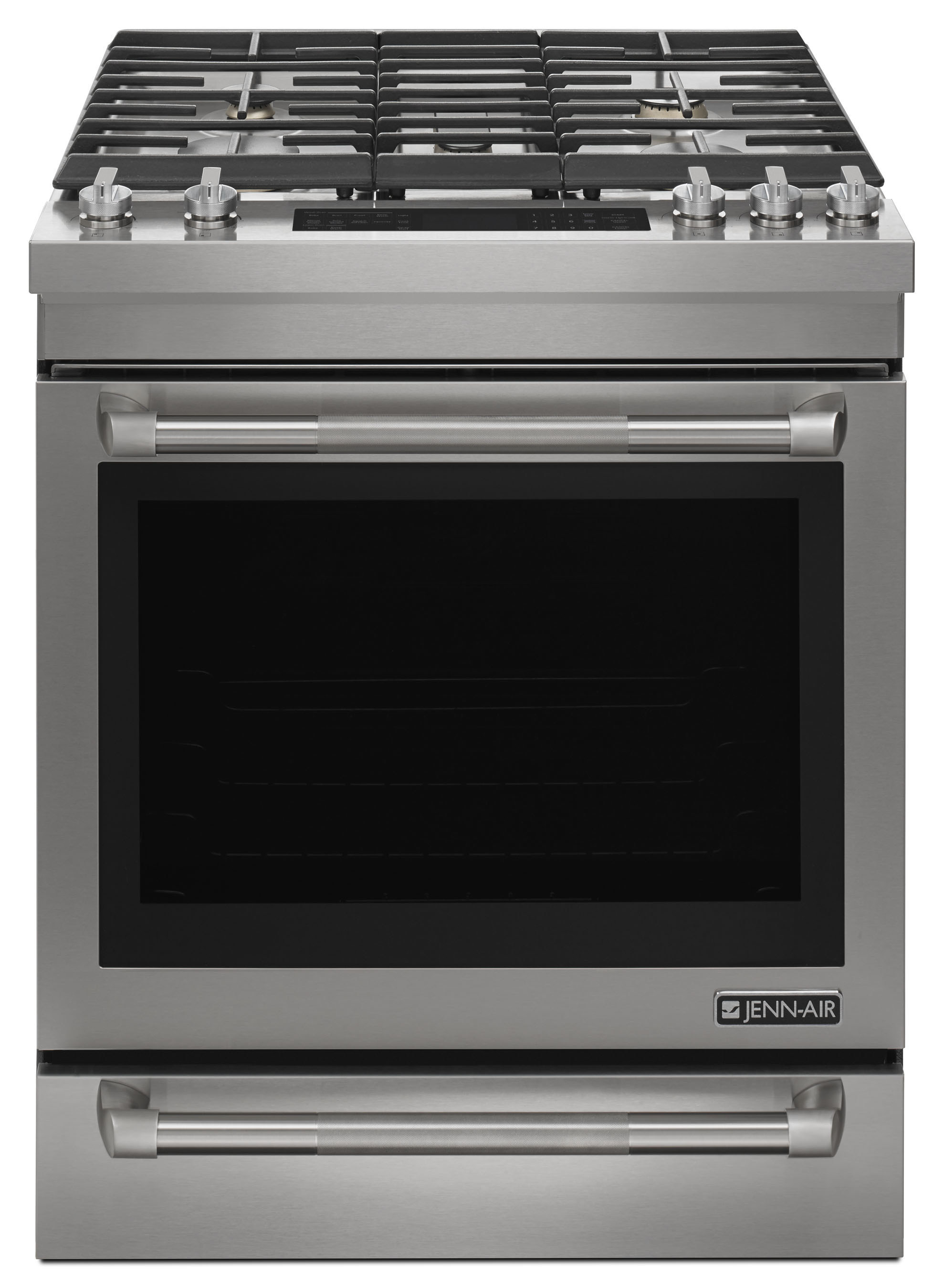 Jenn-Air brand's new collection of 30-inch ranges are offered in dual-fuel, gas, induction and radiant options.