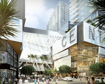 Brickell City Centre's 500,000 square-foot urban shopping center, set to open fall 2016