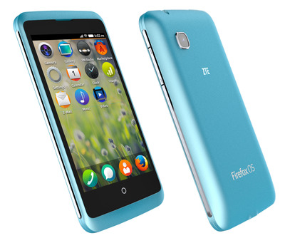The ZTE Open C will offer the latest version of Firefox OS in Venezuela and Uruguay in Q2 of 2014. (PRNewsFoto/Mozilla)