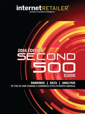 The North American web merchants ranked in the 2016 Internet Retailer Second 500 Guide outgrew their much larger rivals and outpaced the 2015 growth rate of U.S. e-commerce overall.