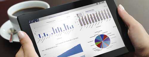 ECRS Mobile Executive Dashboard.  (PRNewsFoto/ECR Software Corporation)