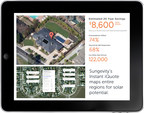 Sungevity's Instant iQuote in use on an iPad. (PRNewsFoto/Sungevity, Inc.)