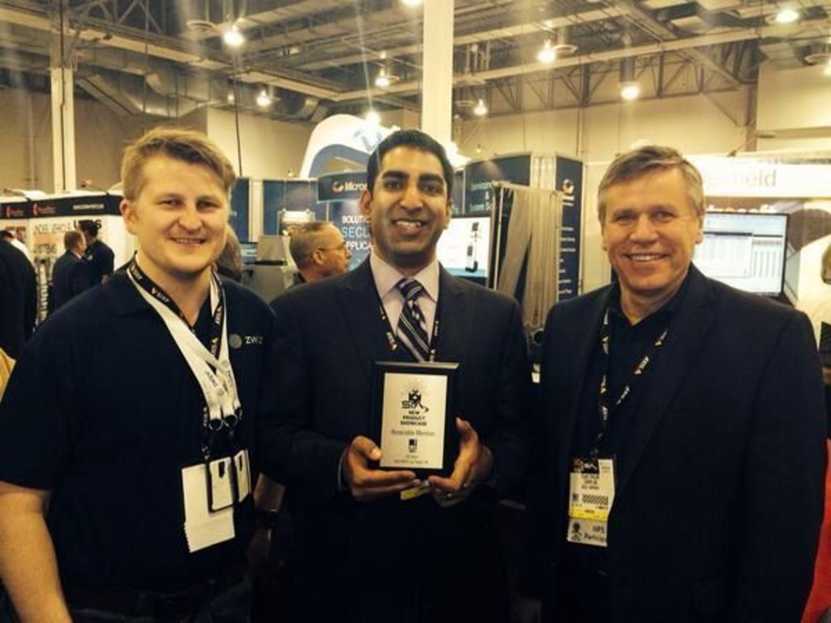 Zwipe wins new product award at ISC West. (PRNewsFoto/Zwipe AS)