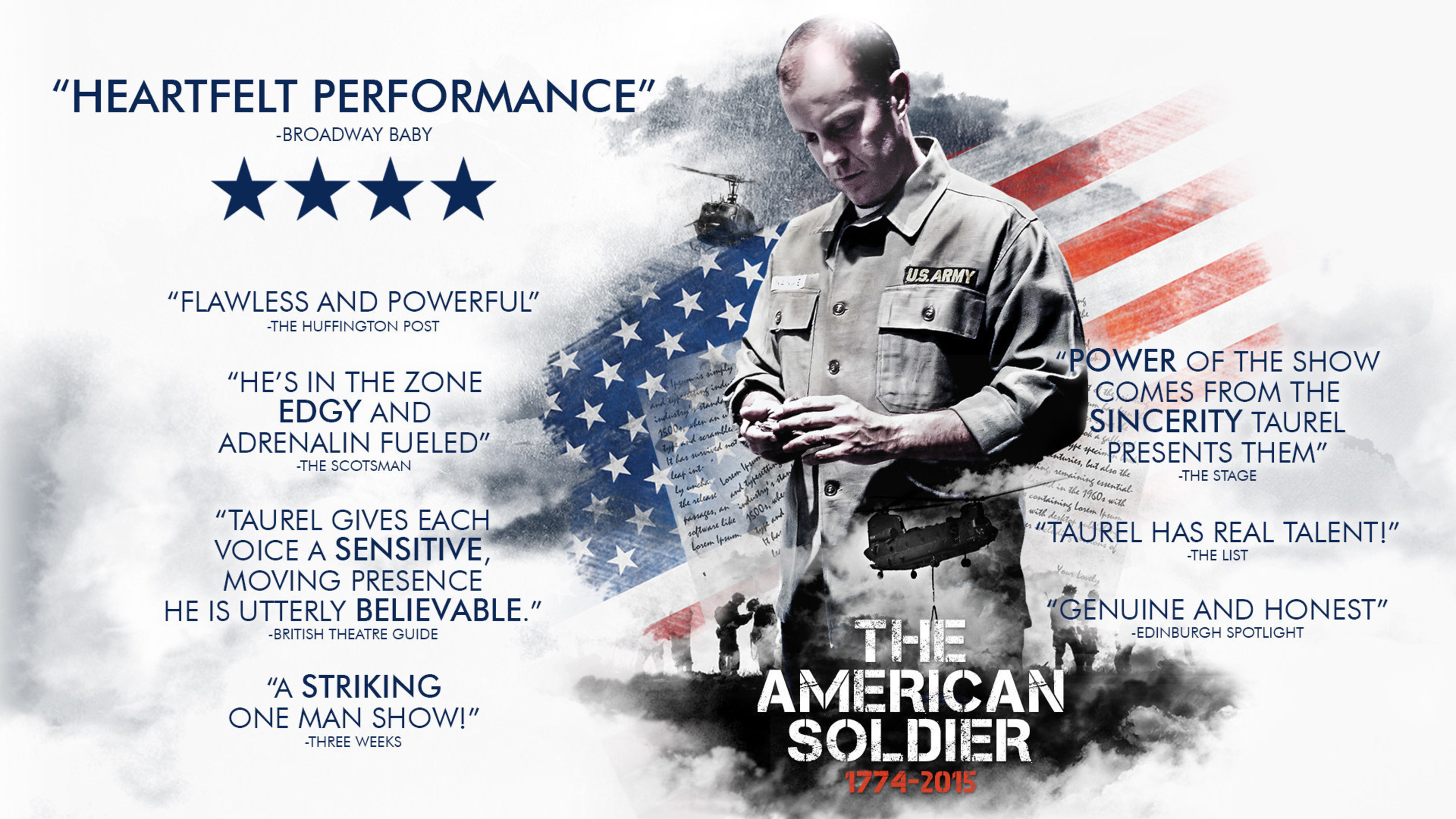 One Man Show Paints WAR, PTSD, and SACRIFICE [From the American Revolution to Afghanistan]
