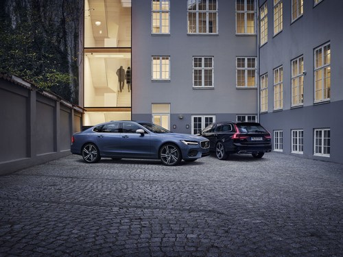 Volvo S90&V90 R-Design (PRNewsFoto/Volvo Car Group)