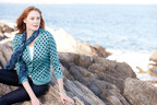 Lands' End Dot Cardigan.  (PRNewsFoto/Lands' End)