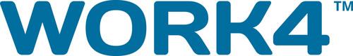 Work4 Labs Logo. (PRNewsFoto/ Work4) (PRNewsFoto/Work4)