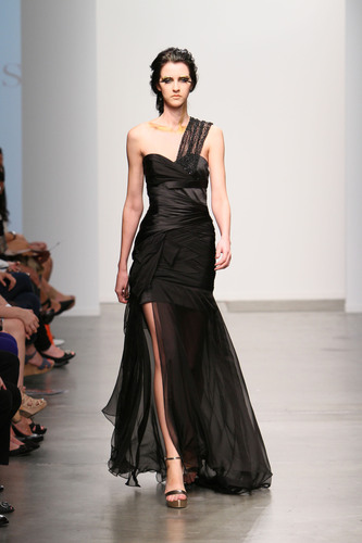 Pamela Gonzales Spring/Summer 2013 collection, as seen at Nolcha Fashion Week (September 12, 2012).  ...