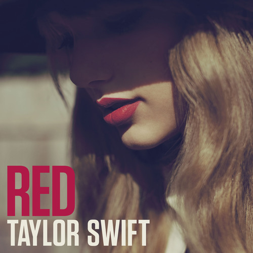 RED album cover.  (PRNewsFoto/Big Machine Records)