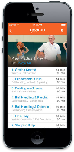 Coach George Karl Shares Coaching Expertise On New Youth Basketball Coaching App, Gooroo. (PRNewsFoto/FastModel Sports) (PRNewsFoto/FASTMODEL SPORTS)