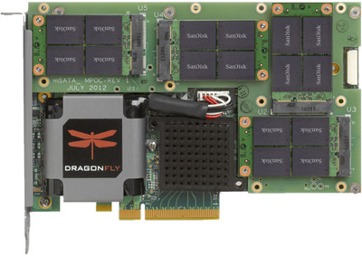 Marvell Unveils DragonFly NVDRIVE PCIe SSD Cache Accelerator.  (PRNewsFoto/Marvell)