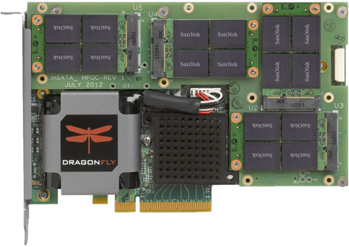 Marvell Unveils DragonFly NVDRIVE PCIe SSD Cache Accelerator
