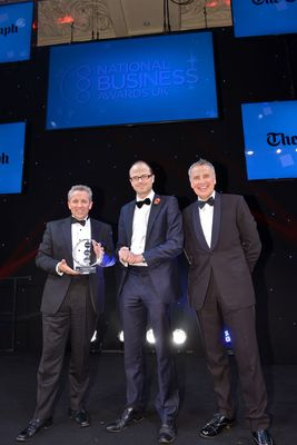Former Sainsbury's CEO Justin King receives The Daily Telegraph Award for a Decade of Excellence in Business