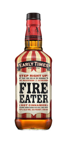 Step Right Up! Early Times® Releases Its First Flavored Spirit: Early Times Fire Eater