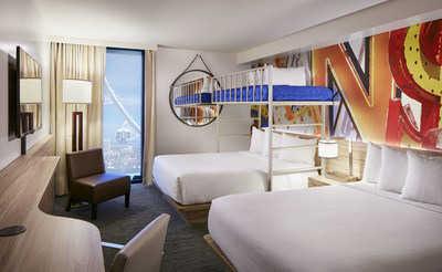 The LINQ Hotel & Casino Offers First Bunk Bed Rooms on the Las Vegas Strip Just in Time for Summer Travel