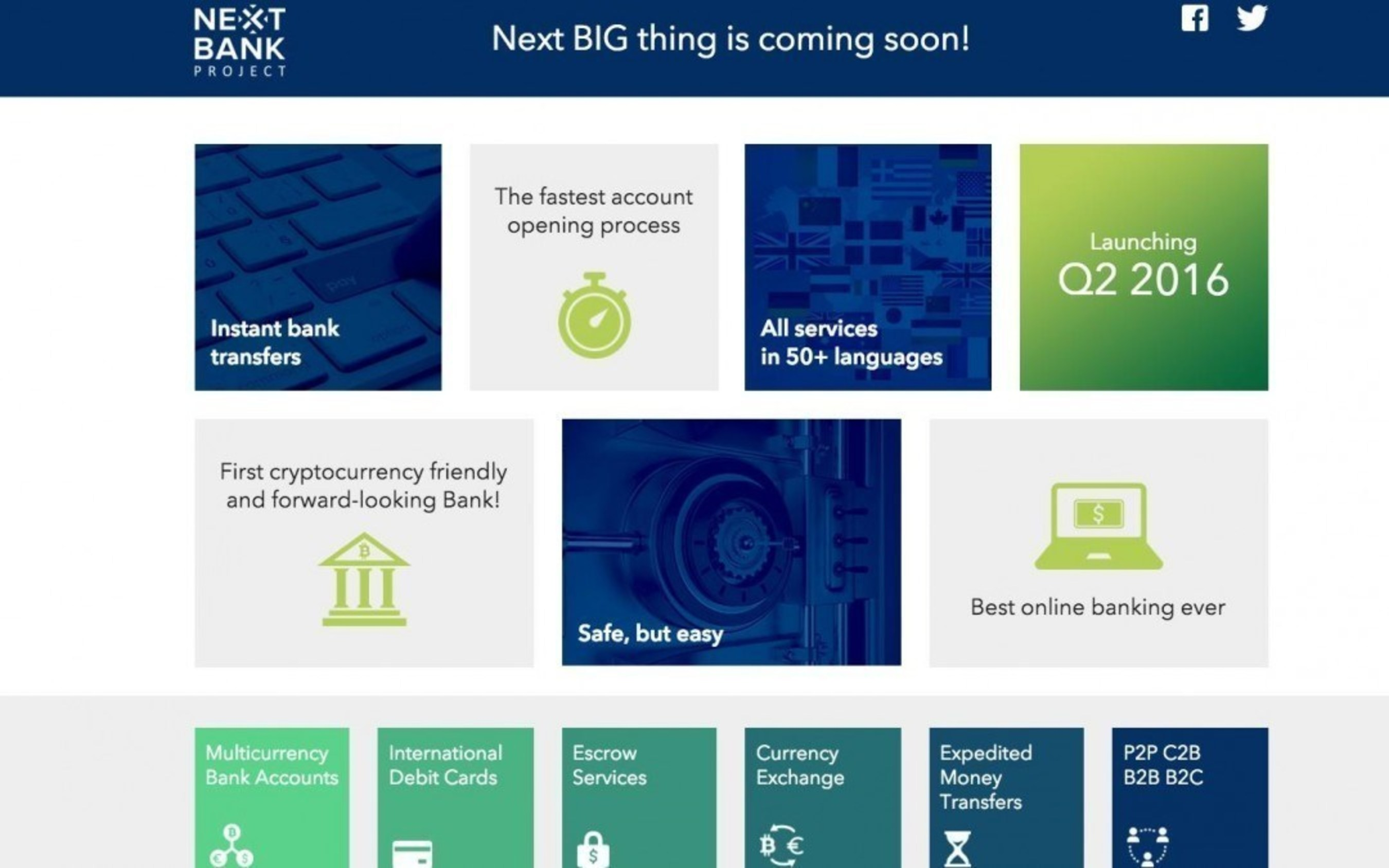 World's First Bitcoin Friendly Bank NextBank Announces Upcoming Launch Establishes 'NB Formation Company'