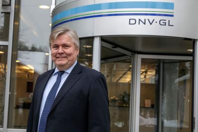 Henrik Madsen, president and CEO, DNV GL.  (PRNewsFoto/DNV GL)