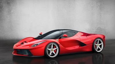 LaFerrari - 3/4 side.  (PRNewsFoto/Ferrari)