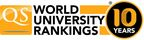 10-year anniversary of the QS World University Rankings