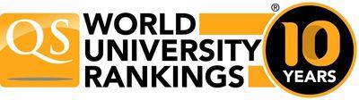 10-year anniversary of the QS World University Rankings