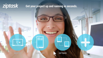 Ziptask's real-time instant video chat with customers is a first to the IT Outsourcing Industry.