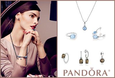 PANDORA LAUNCHES STUNNING JEWELRY SETS FOR THE HOLIDAYS.  (PRNewsFoto/PANDORA Jewelry)