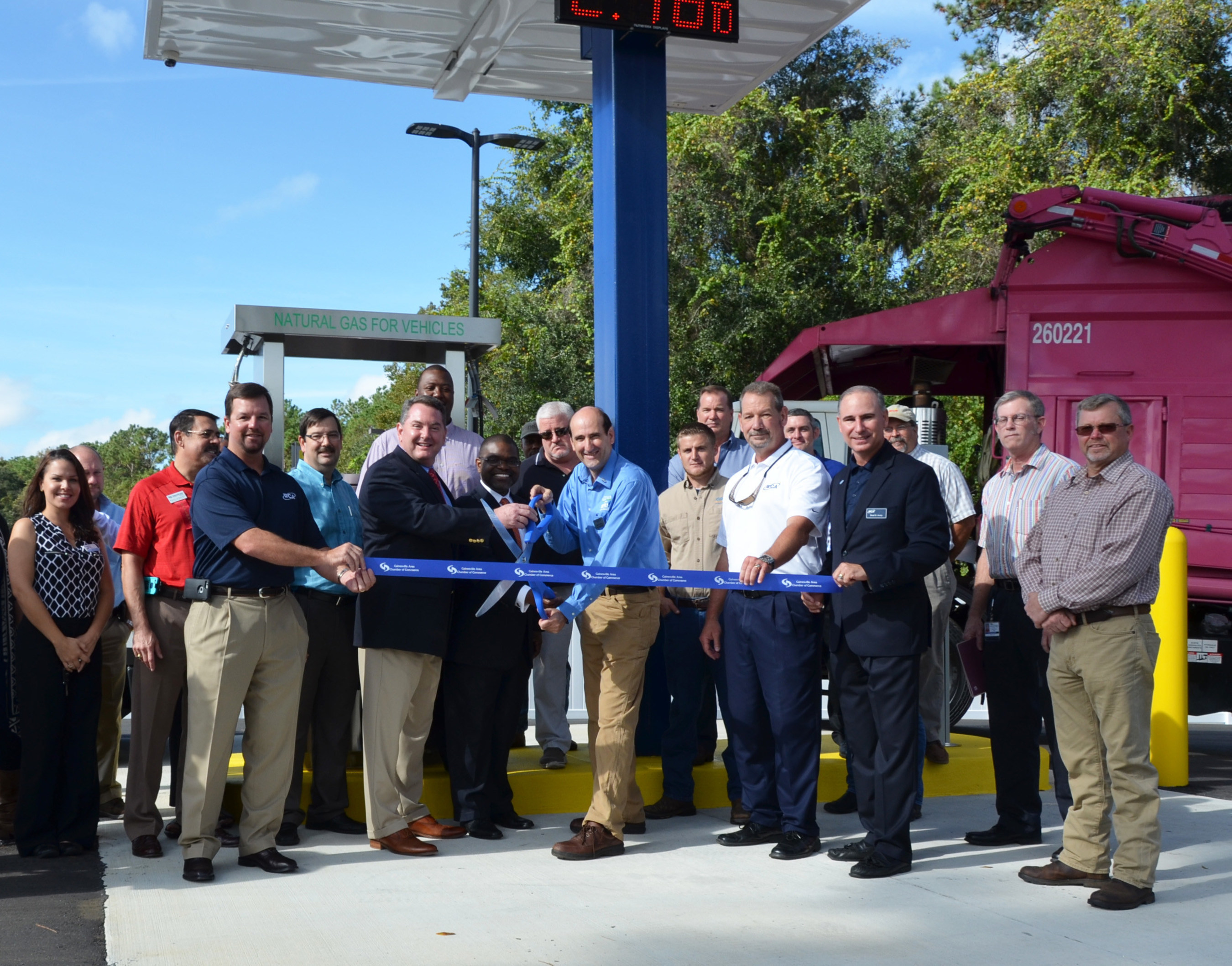 wca waste corporation WCA Waste Corporation Opens First Public Access Compressed Natural ...