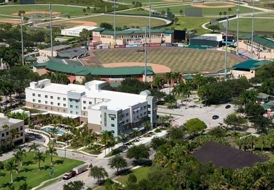 Courtyard Palm Beach Jupiter entices baseball fans with a new package offering a $15 Bistro credit, late-check and deluxe accommodations near Roger Dean Stadium, home of spring training for the St. Louis Cardinals and Miami Marlins. For information, visit www.marriott.com/PBIJA or call 1-561-776-2700.