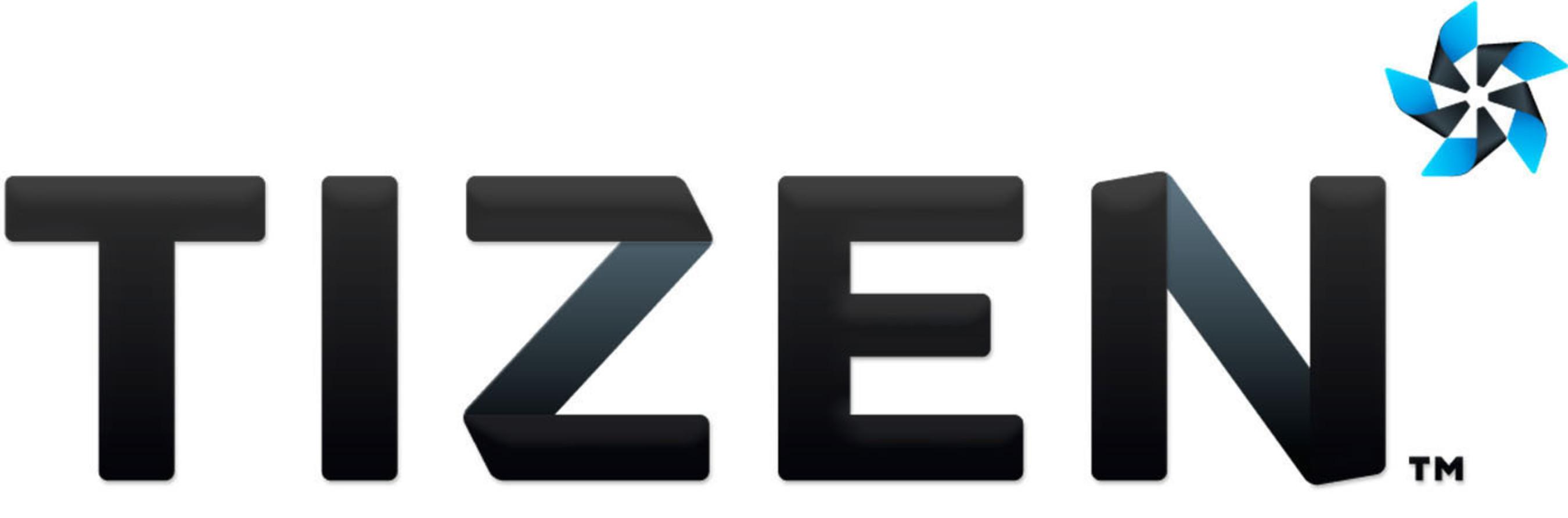 Tizen logo.