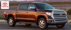 The 2014 Toyota Tacoma and 2014 Toyota Tundra are excellent pickup trucks ready to serve customers of Toyota of Naperville. (PRNewsFoto/Toyota of Naperville)