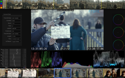 Colorfront On-Set Dailies features extensive stereo analysis- and advanced automatic matching tools. CUDA optimized faster than realtime GPU rendering of multiple deliverables. Used on most high-end Hollywood features and HD episodic television shows. Fully flexible pipeline for digital camera workflows including RED Epic, ARRI Alexa, Canon 5D, Silicon Imaging, Phantom.  (PRNewsFoto/Colorfront)