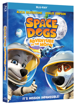 From Universal Pictures Home Entertainment: Space Dogs: Adventures to the Moon
